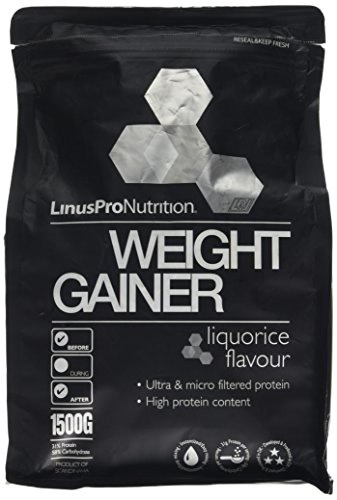 JANUARY SALE  LinusPro Weight Gainer - Liquorice Flavour 1500g