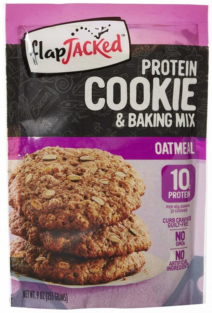 FlapJacked Protein Cookie and Baking Mix - Oatmeal 255g