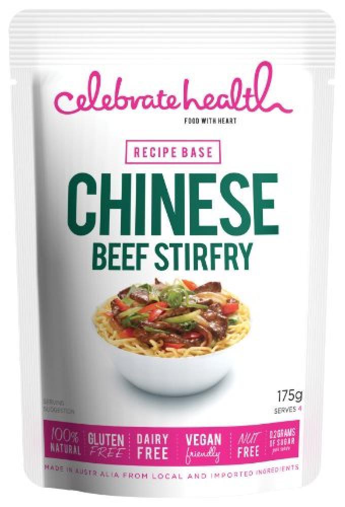 Celebrate Health Chinese Beef Stirfry Recipe Base 175g