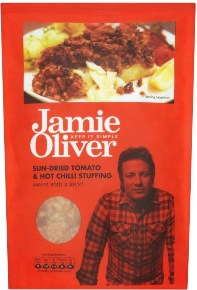 Jamie Oliver Sun Dried Tomato And Hot Chilli Stuffing 110g