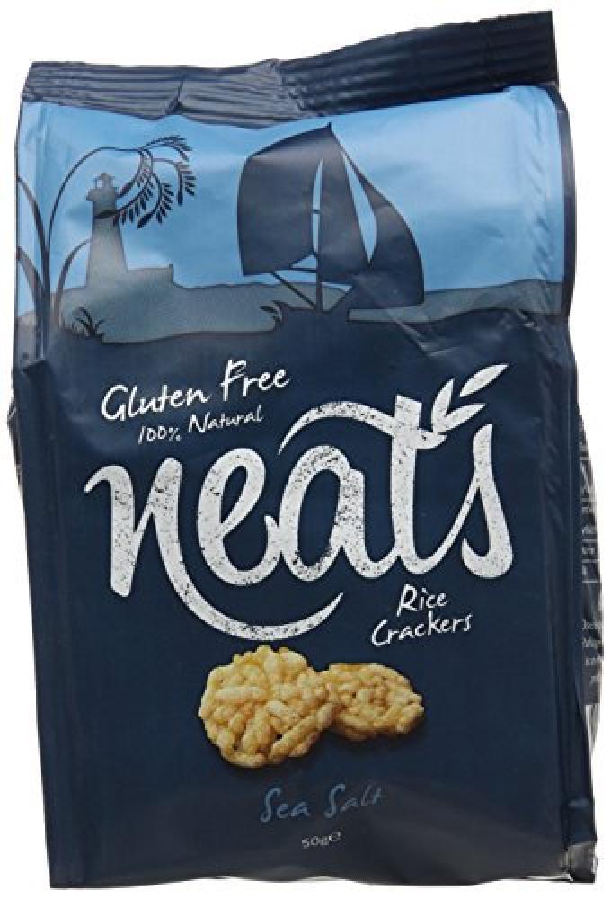 Neats Rice Crackers with Sea Salt 50g