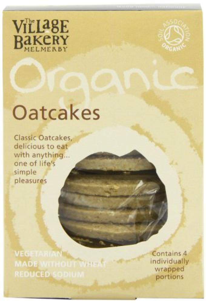 Village Bakery Organic Oat cakes Wheat Free 250 g