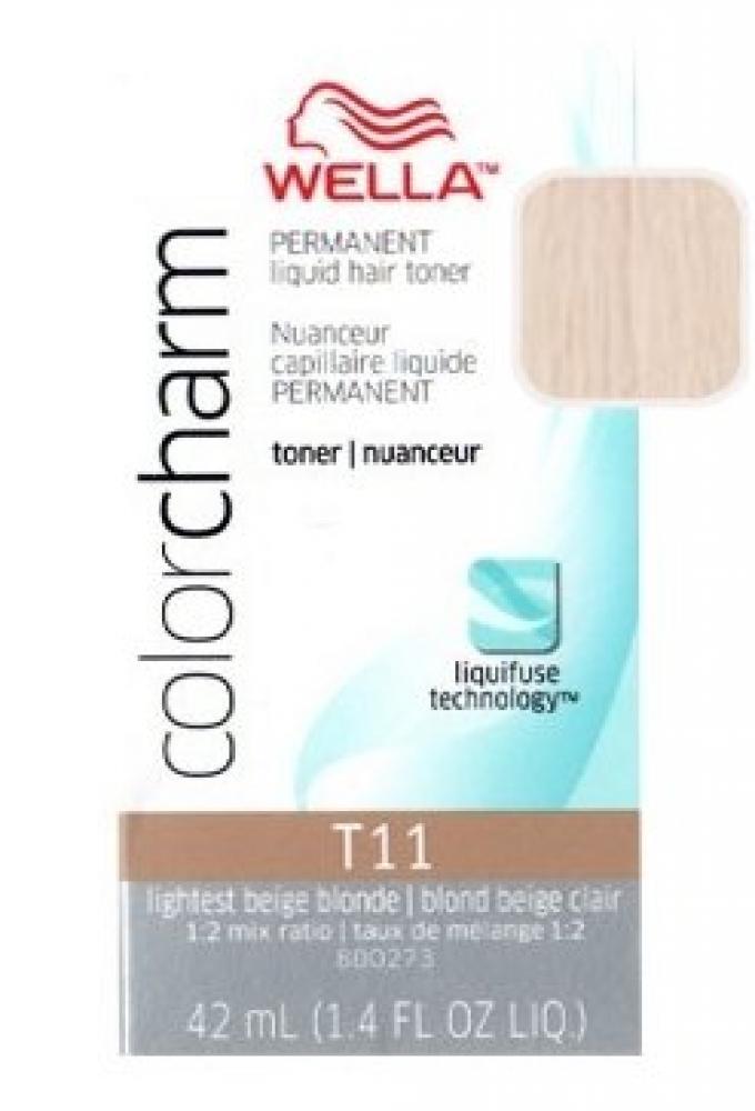 Wella Color Charm Toner - T11 - Royal Blonde 41ml