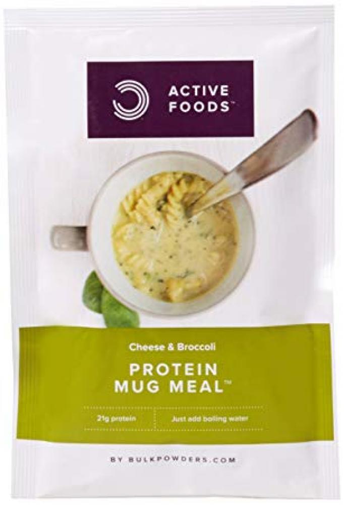 Bulk Powders Cheese and Broccoli Protein Mug Meal 64g