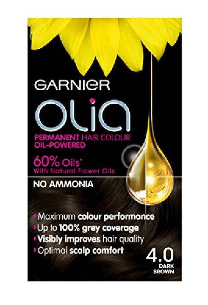 Garnier Olia 4.0 Dark Brown Permanent Hair Dye
