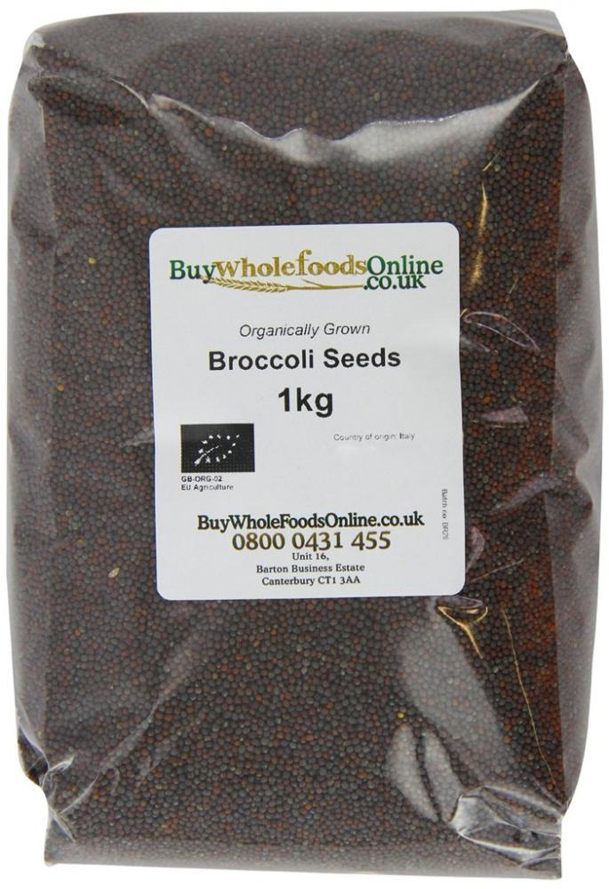 Buy Whole Foods Organic Broccoli Seeds 1 Kg