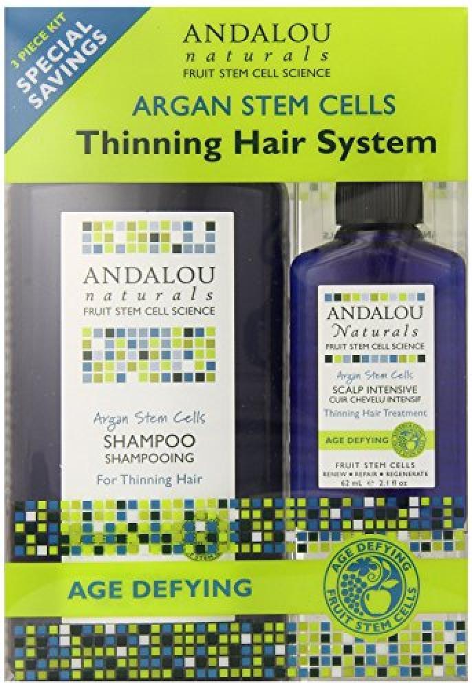 Andalou Age Defying Argan Stem Cells Thinning Hair Cells