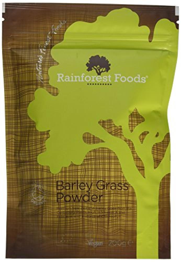 Rainforest Foods Barley Grass Powder 200g