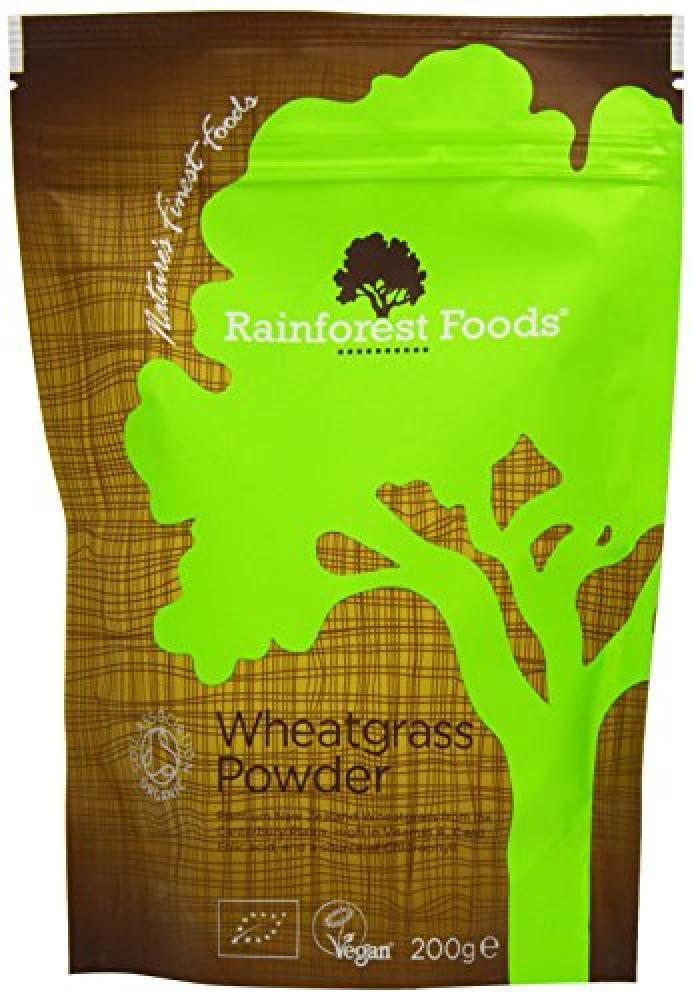 Rainforest Foods Wheatgrass Powder 200g
