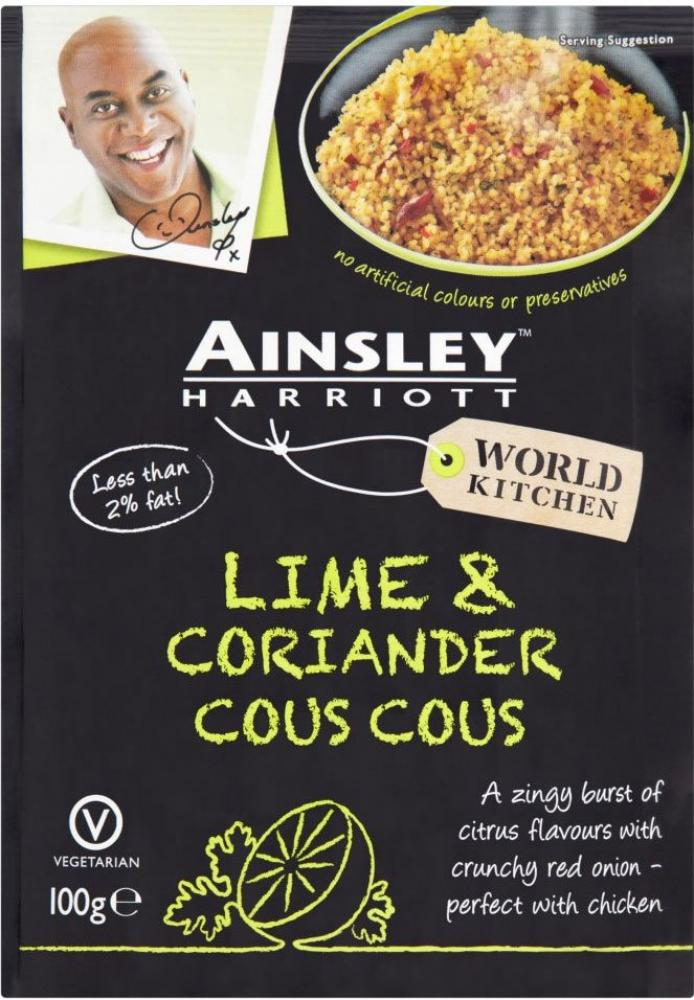 Ainsley Harriott Lime and Coriander Cous Cous 100g