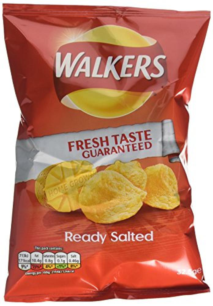 Walkers Ready Salted Crisp 32.5g