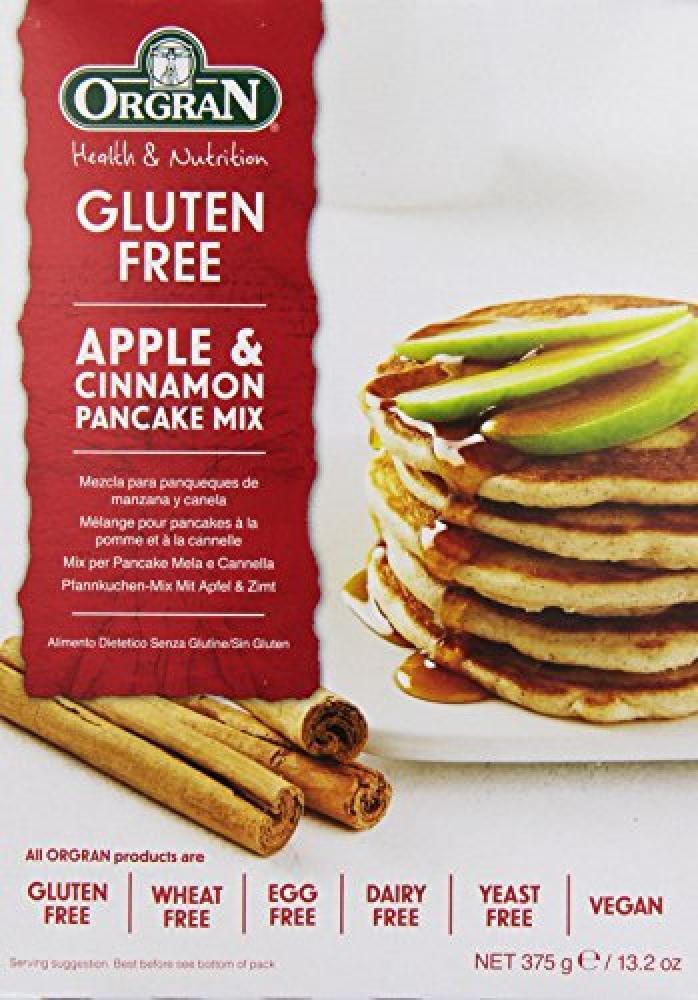 Orgran Apple and Cinnamon Pancake Mix 375g