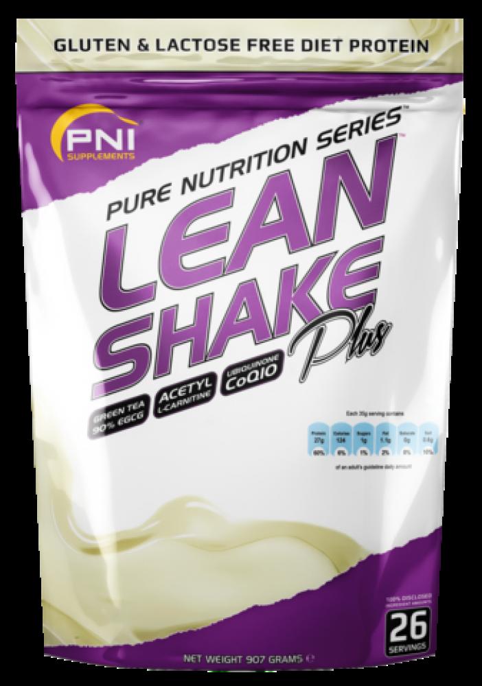 PNI Supplements Lean Shake Plus Choc Chip Mint 907g