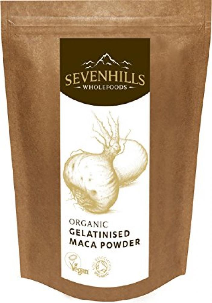 Sevenhills Wholefoods Organic Gelatinised Maca Powder 125g