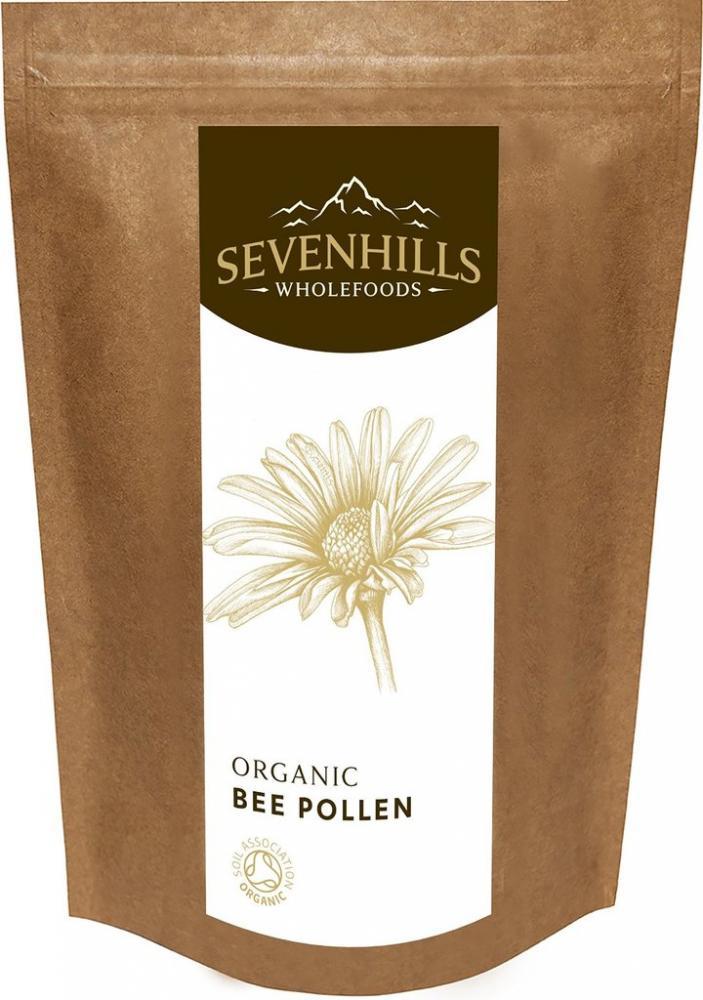 JANUARY SALE  Sevenhills Wholefoods Organic Raw Bee Pollen 250g