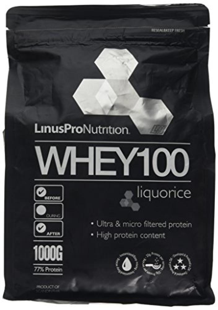 LinusPro WHEY100 Protein - Liquorice Flavour 1kg