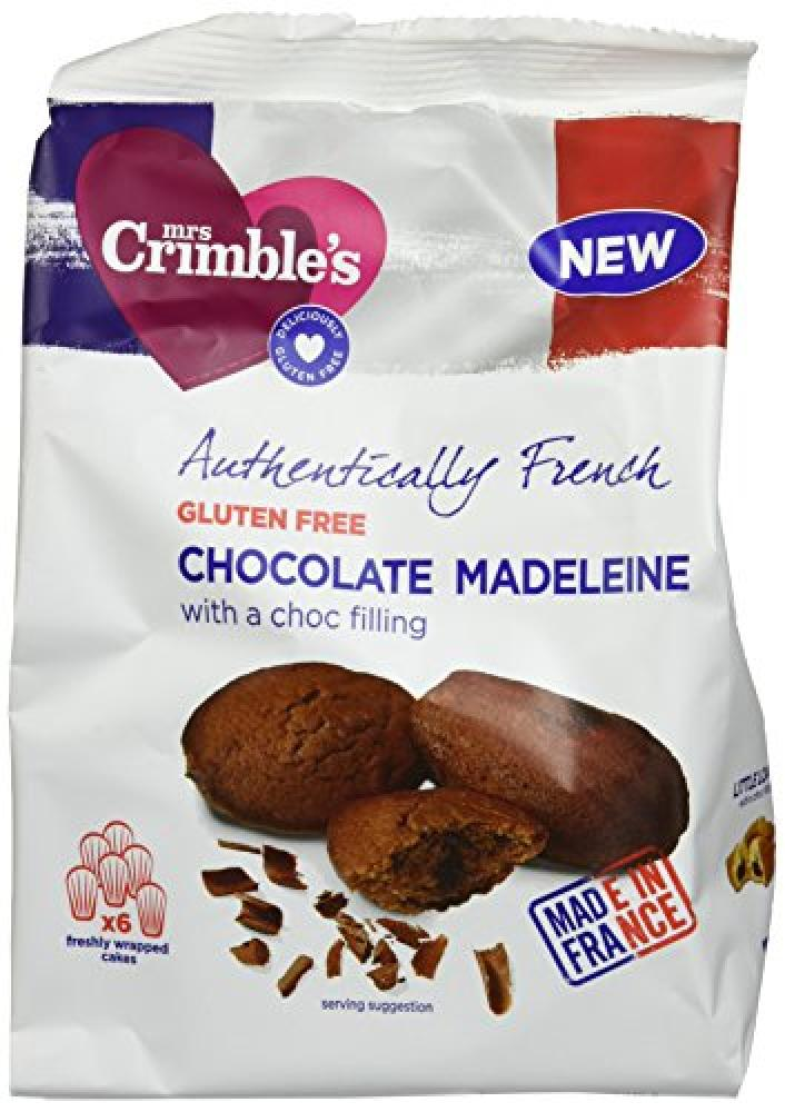 Mrs Crimbles Authentically French Chocolate Filling Madeleines 170 g