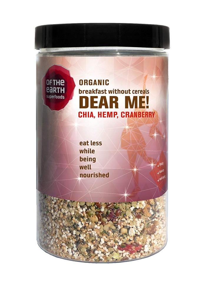 Of The Earth Superfoods Dear Me Chia Hemp Cranberry 200g