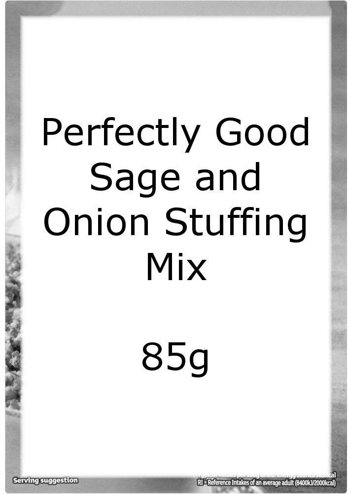 Perfectly Good Sage and Onion Stuffing Mix 85g