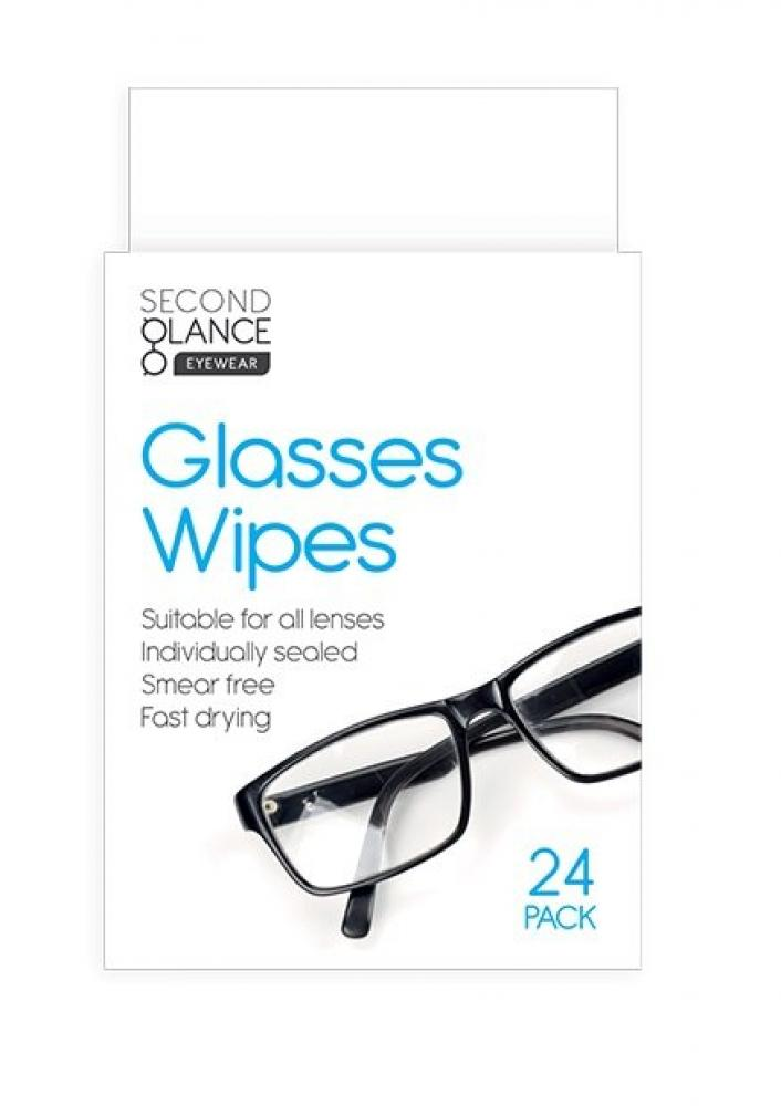 Second Glance Glasses Lens Wipes 24 pack
