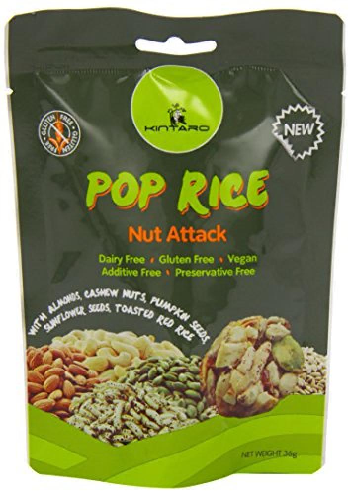 Kintaro Pop Rice Nut Attack 36g