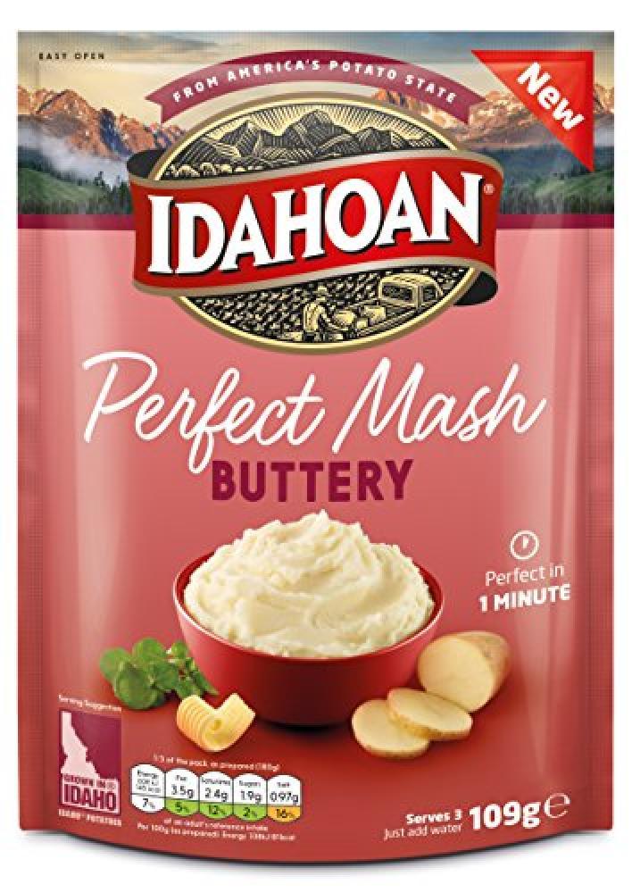 Idahoan Perfect Mash Buttery 109g
