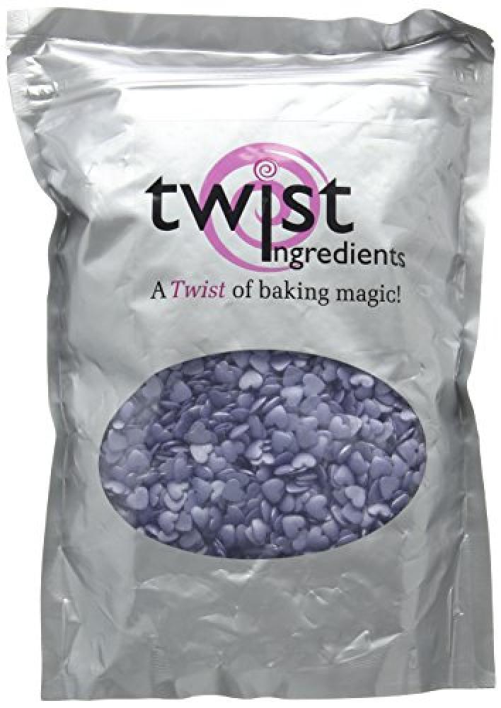 Twist Ingredients Glimmer Violet Love Hearts 800 g