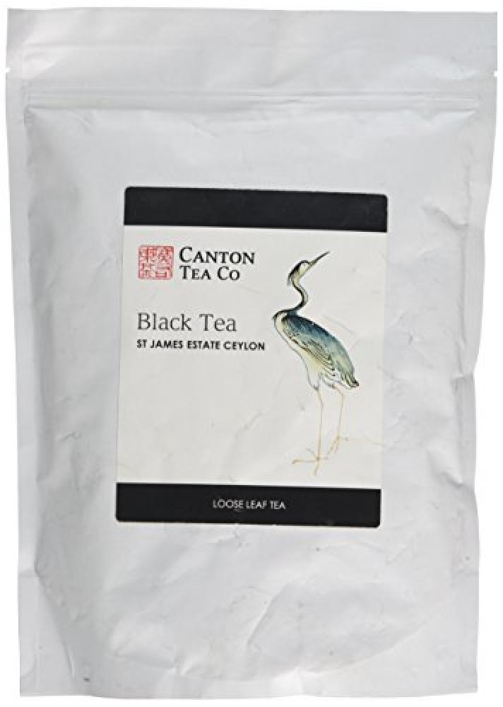 Canton Tea Co Black Tea St James Estate Ceylon Loose Leaf Tea 250g