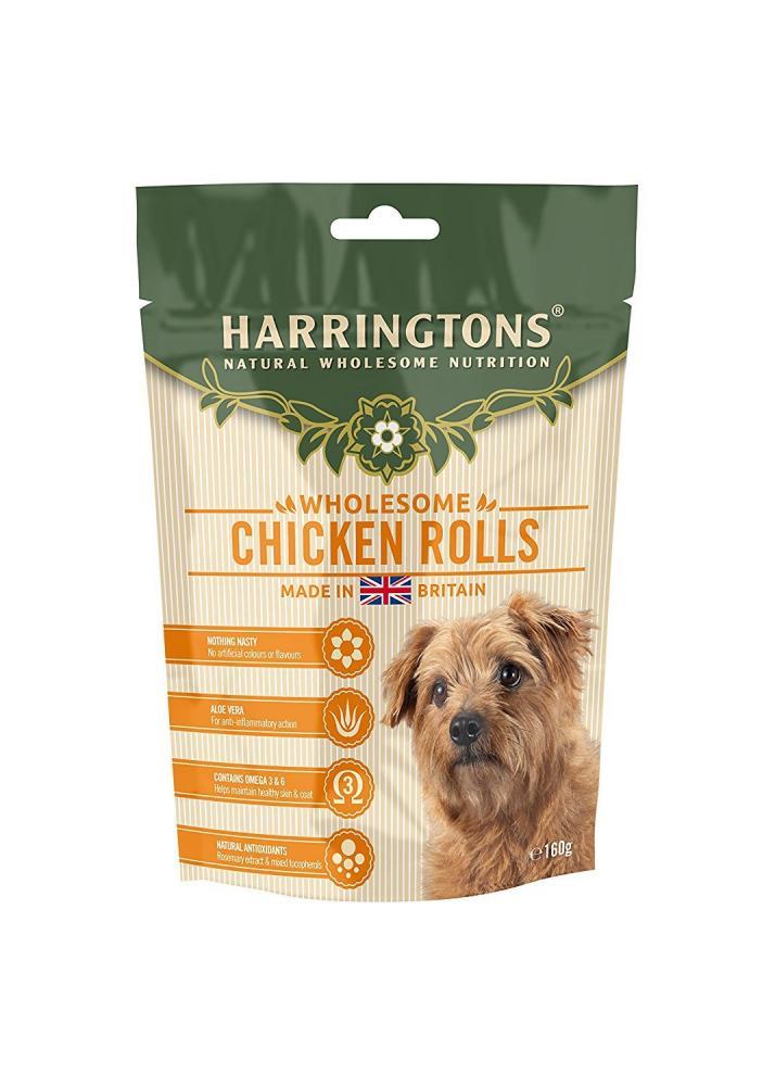 Harringtons Chicken Roll Dog Treats 160g