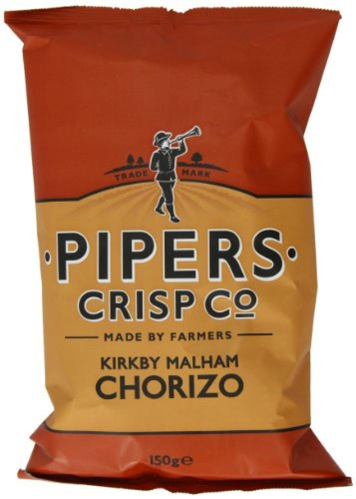 Pipers Crisp Co Kirkby Malham Chorizo 150g
