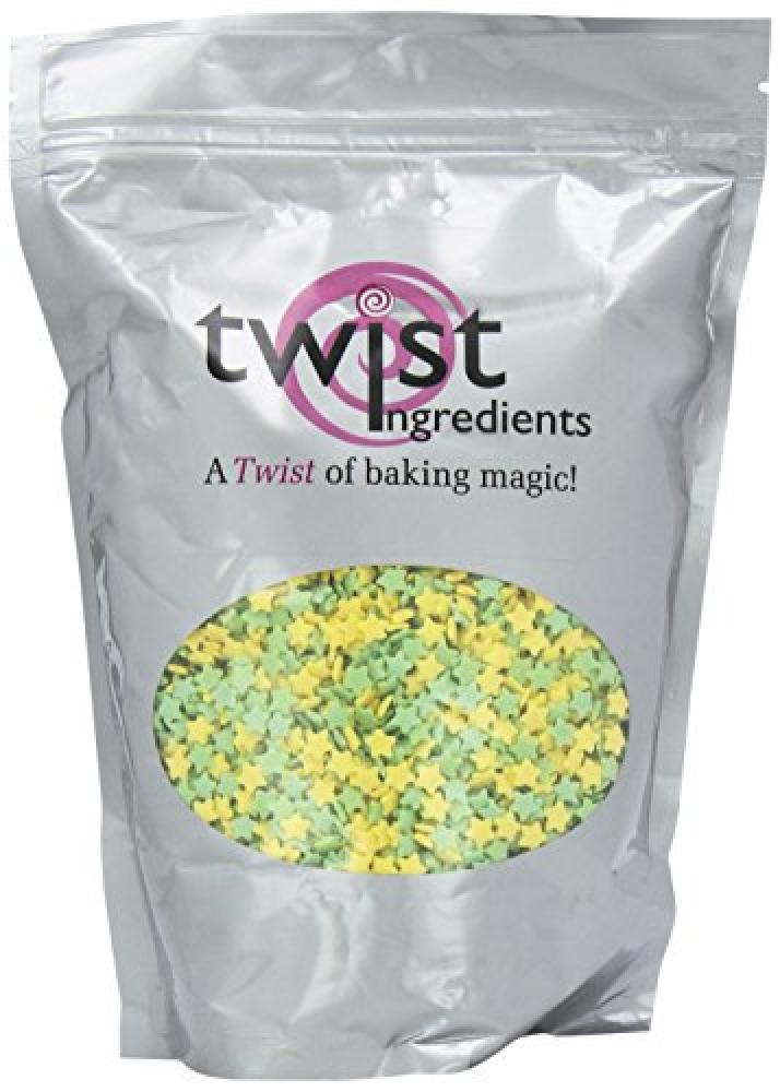 Twist Ingredients Yellow and Green Stars 800g