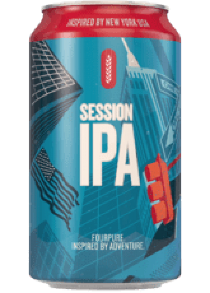 Fourpure Brewing Co Session IPA Beer Can 330ml