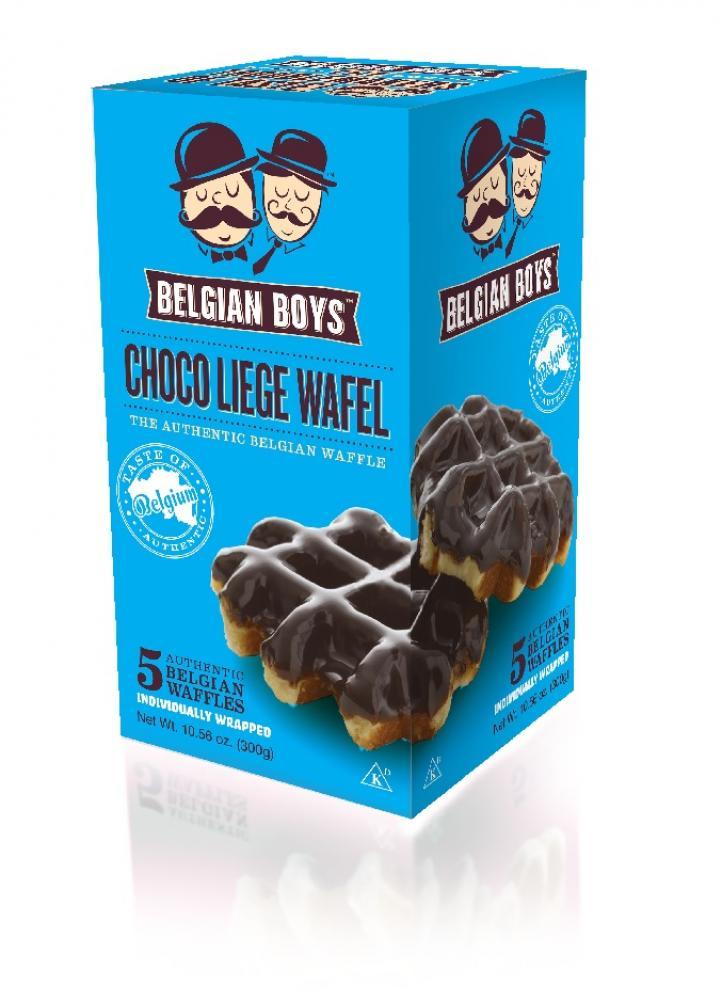 Belgian Boys Choco Liege Wafel 300g