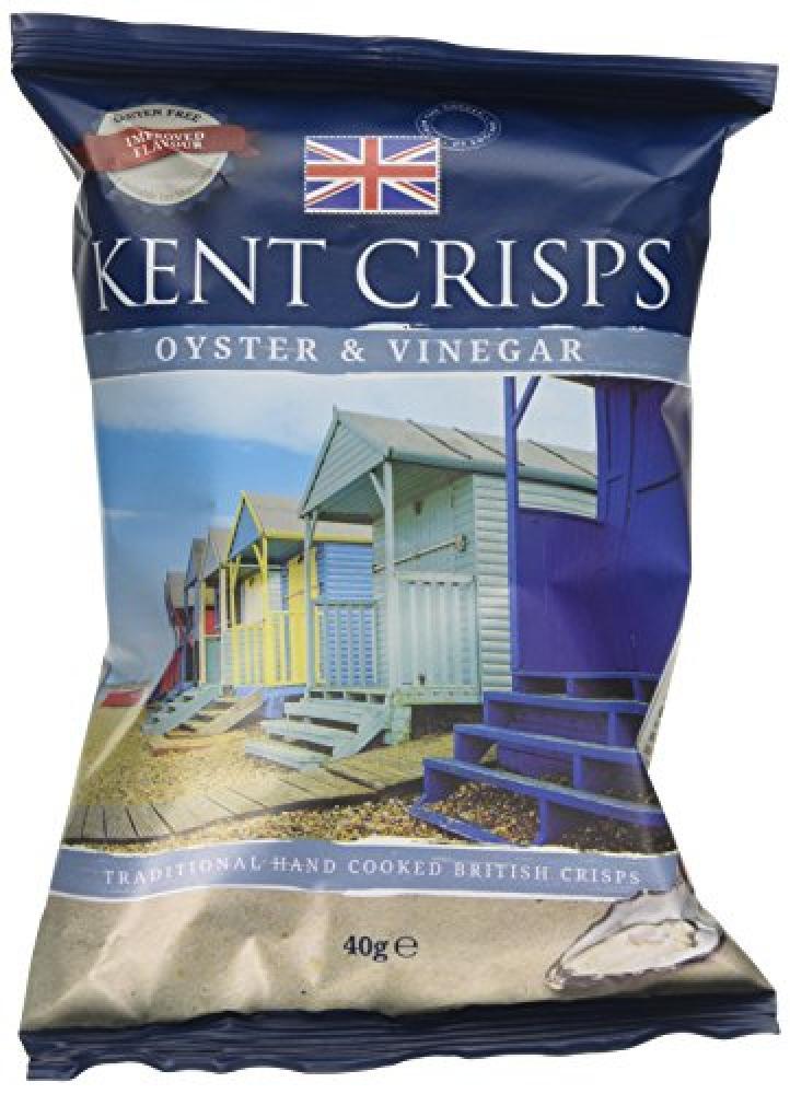 Kent Crisps Oyster Vinegar 40g