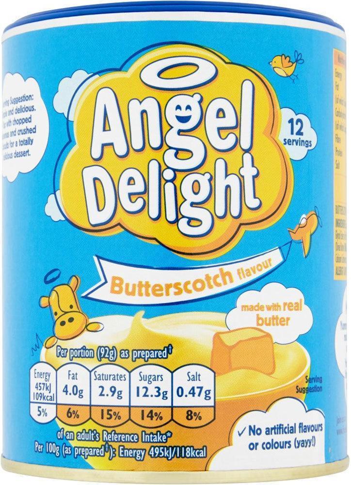 Angel Delight Butterscotch Flavour 177g