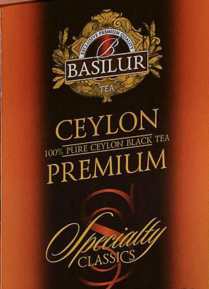 Basilur Tea Ceylon Premium Specialty Classic 100g