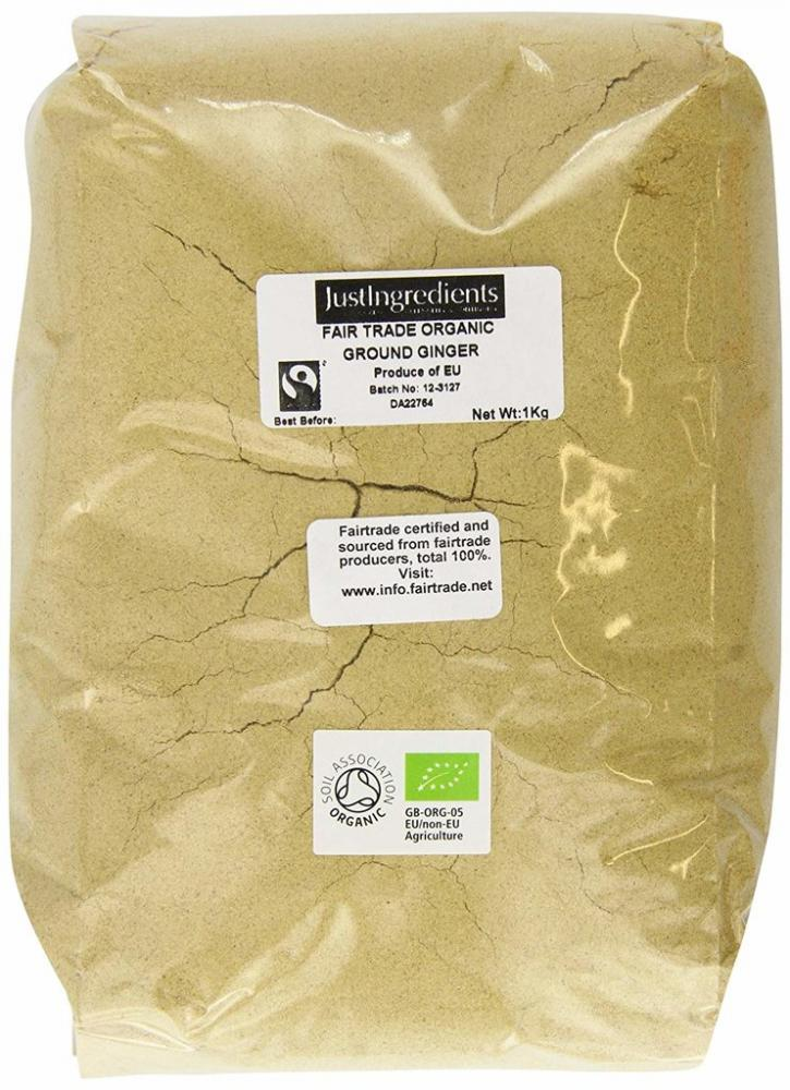 JustIngredients Organic Fairtrade Ginger Ground 1kg