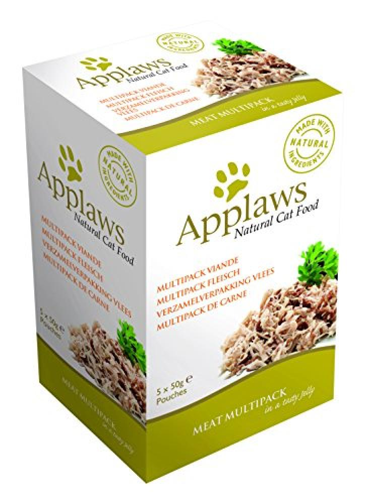 Applaws Cat Food Jelly Pouch Multipack Meat Selection 5x50g