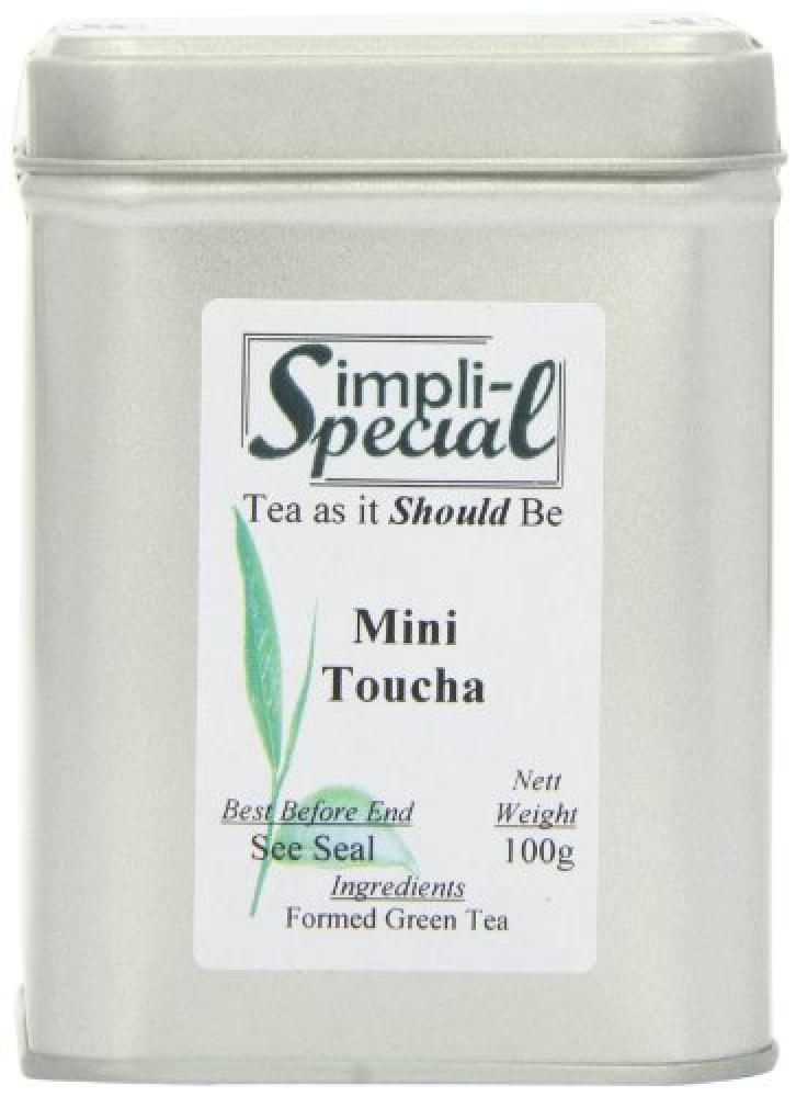 Simpli-Special  Mini Toucha Compressed Green with A Touch of Pu-erh Loose Tea in Gift Caddy 100g