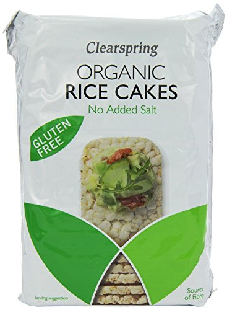 Clearspring Rice Cakes No Added Salt 130g