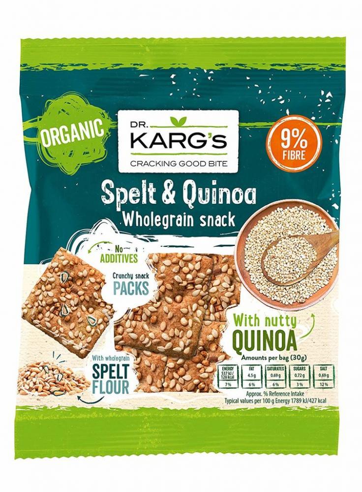 Dr Karg Spelt and Quinoa Snack 30g