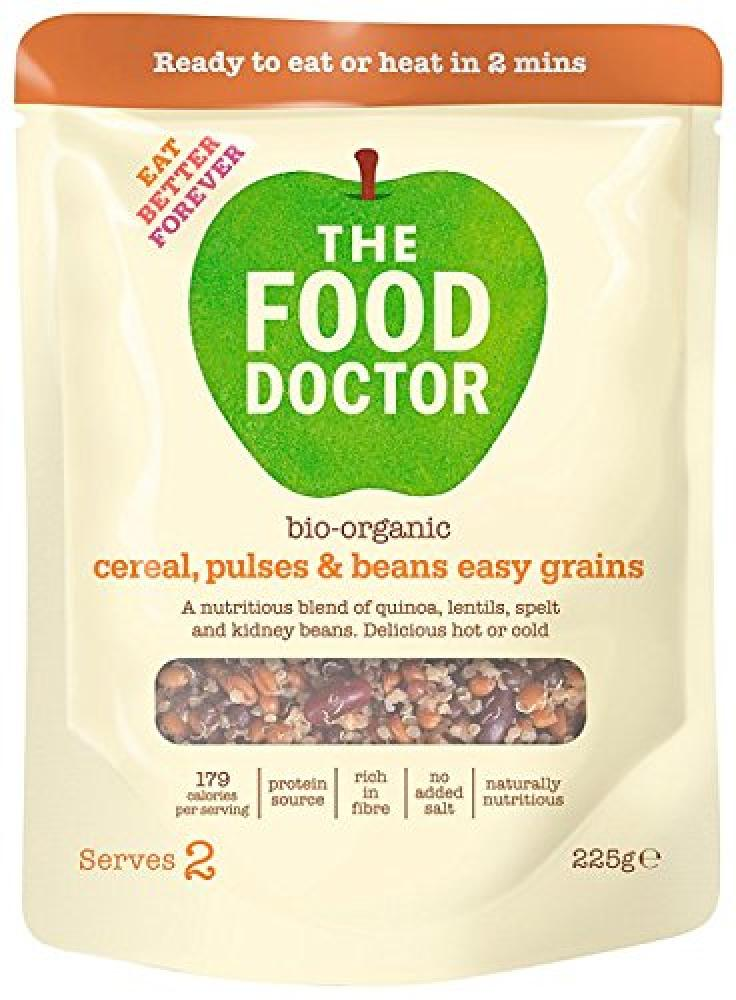 The Food Doctor Easy Grains Organic Cereals Pulses and Beans 225 g