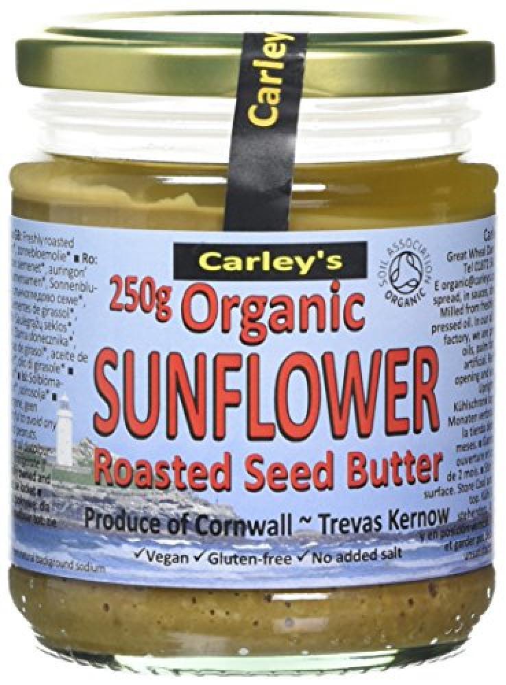 Carleys Organic Sunflower Butter 250 g