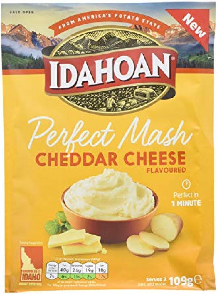 Idahoan Cheddar Cheese Potato Mash 109g