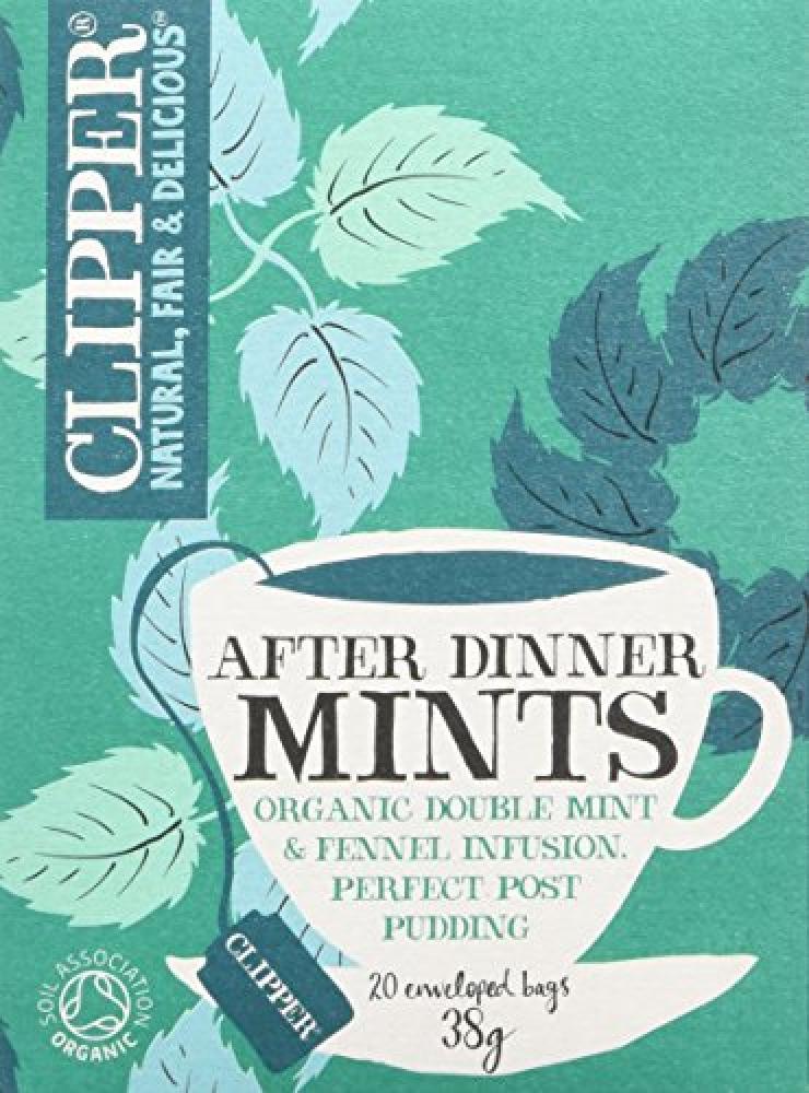 Clipper After Dinner Mints 20 Teabags 38g
