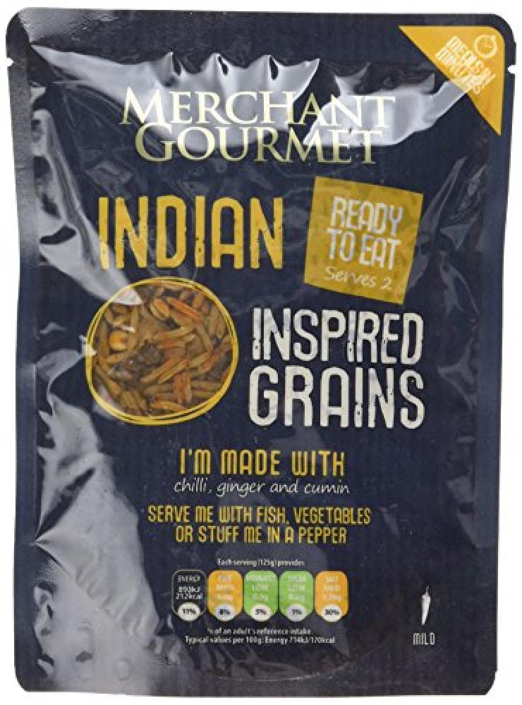 Merchant Gourmet Indian Inspired Rice and Lentils 250g