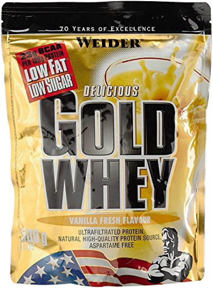 Weider Nutrition Gold Whey Vanilla Fresh Powder 500 g
