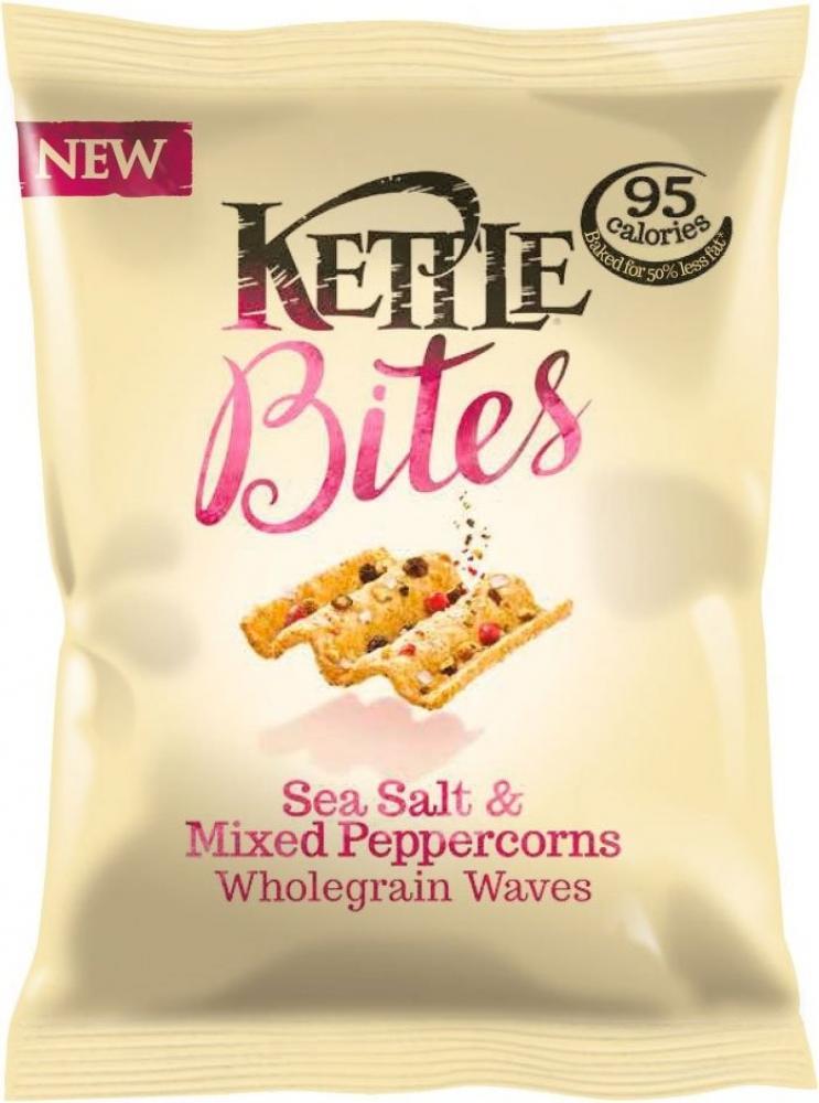 Kettle Bites Sea Salt and Mixed Peppercorns 88g