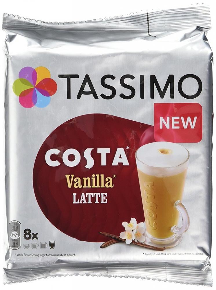 Tassimo Costa Vanilla Latte 8s