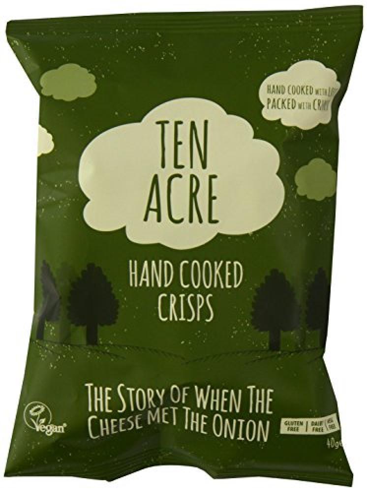 Ten Acre When Cheese Met Onion crisps 40 g
